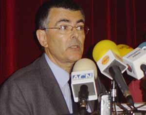 Jaume Solà, director de l'Agència Catalana de l'Aigua, a Sau. - JaumeSolaACA